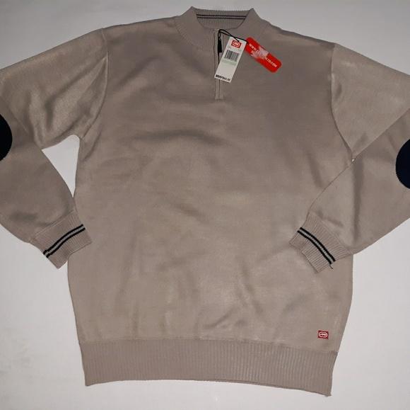 Men/'s Mock Turtleneck Sweatshirt Choose Size Ecko Unltd